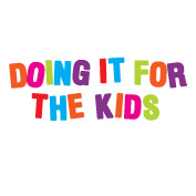 Doing it for the kids logo