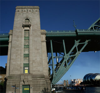 North Tower of the Tyne Bridge