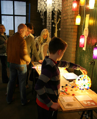 Visitors at Lighten Up